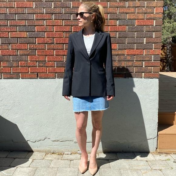 Babaton Wool Blazer Black Size 6